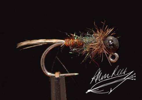 Black Bead Pheasant Tail