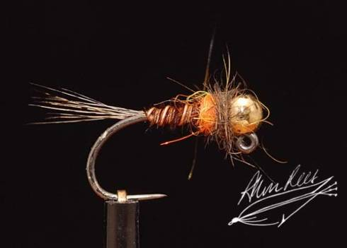 Orange Neck Pheasant Tail Nymph